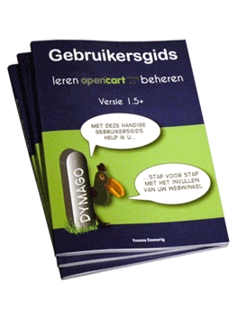 OpenCart handleiding in het Nederlands
